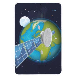 Satellite Vinyl Magnets