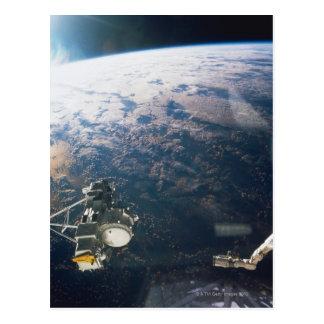 Satellite Reflection Postcard