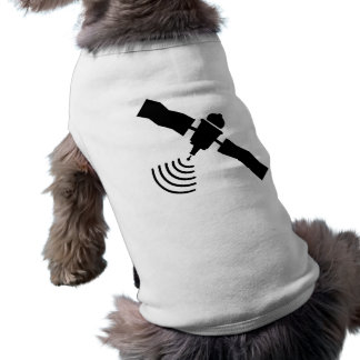 Satellite Sleeveless Dog Shirt