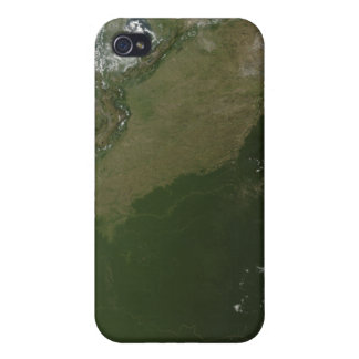 Satellite view of eastern Columbia Covers For iPhone 4