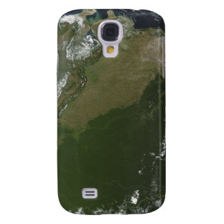 Satellite view of eastern Columbia Galaxy S4 Case