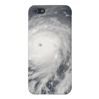 Satellite view of Hurricane Celia iPhone 5 Case