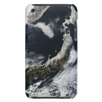 Satellite view of Japan iPod Touch Case