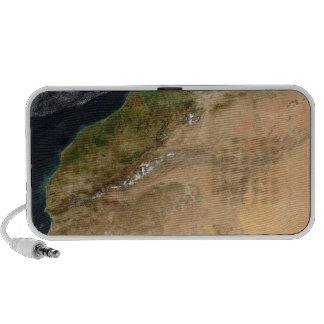Satellite view of Morocco iPod Speakers