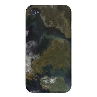 Satellite view of Northern Europe Cases For iPhone 4