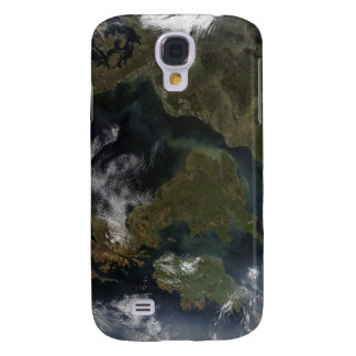 Satellite view of Northern Europe Galaxy S4 Case
