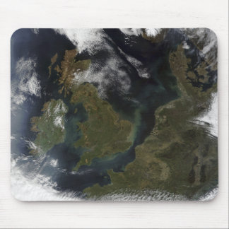 Satellite view of Northern Europe Mouse Mat