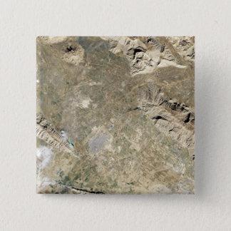 Satellite view of Persepolis 15 Cm Square Badge