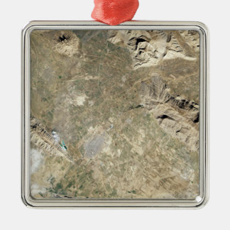 Satellite view of Persepolis Christmas Ornament
