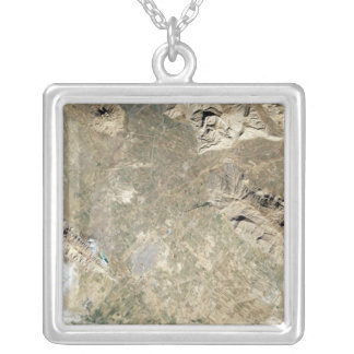 Satellite view of Persepolis Silver Plated Necklace