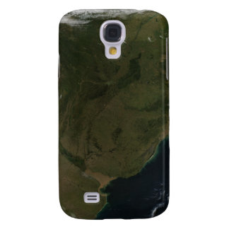 Satellite view of South America Samsung Galaxy S4 Covers