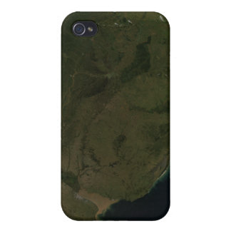 Satellite view of South America iPhone 4/4S Cover