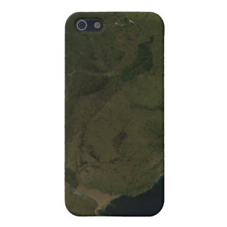 Satellite view of South America iPhone 5 Cases