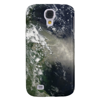 Satellite view of streaks and ribbons of oil galaxy s4 case