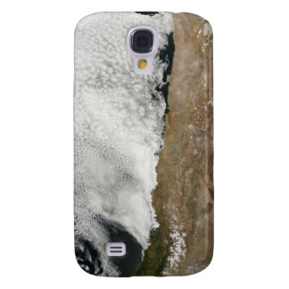 Satellite view of the Andes Mountains Galaxy S4 Case
