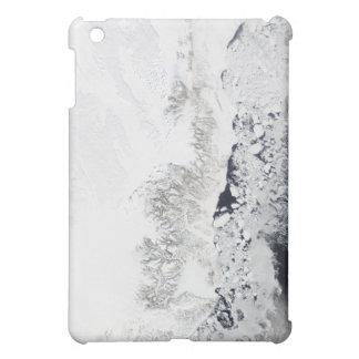 Satellite view of the eastern coast of Greenlan iPad Mini Covers