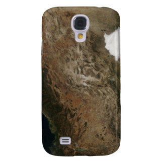 Satellite view of the landscape of central Mexi Galaxy S4 Case