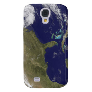Satellite view of the United States East Coast Galaxy S4 Case