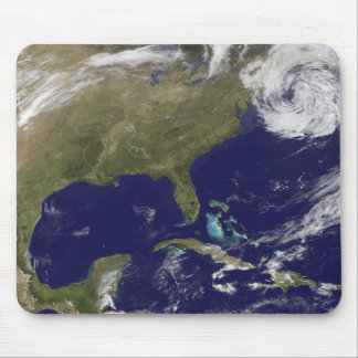 Satellite view of the United States East Coast Mouse Mat