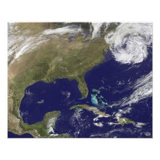 Satellite view of the United States East Coast Photo Print