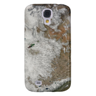Satellite view of the western United States Galaxy S4 Case