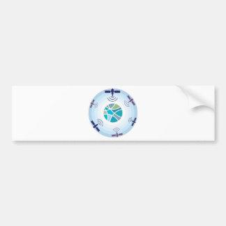 Satellites Bumper Sticker