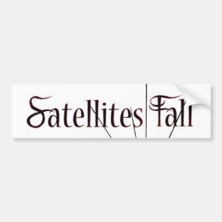 Satellites Fall Bumbper Sticker Bumper Sticker