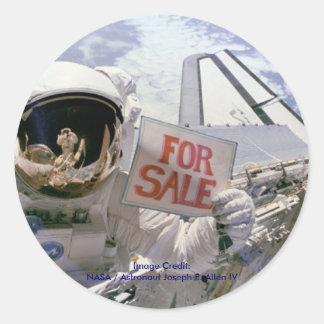 Satellites For Sale Round Sticker