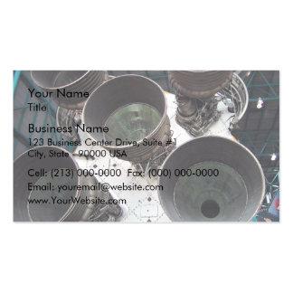 Satern V Rocket Nozzles Pack Of Standard Business Cards