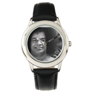 Sathya Sai Baba Stainless Steel Watch