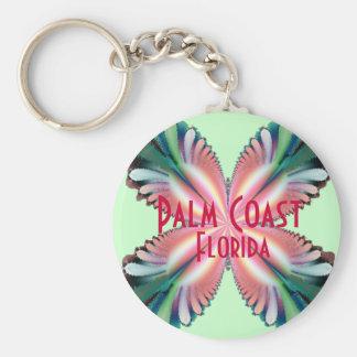 Satin Fleur, Palm Coast, Florida Key Ring