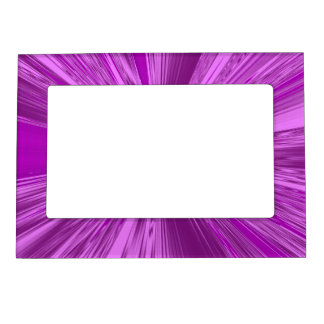 Satin- Purple Magnetic Picture Frame