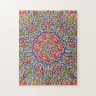 Satin Soft Southern Hot Kaleidoscope Jigsaw Puzzle