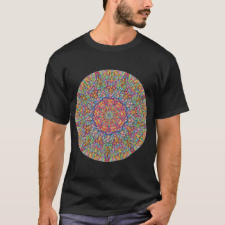Satin Soft Southern Hot Kaleidoscope T-Shirt
