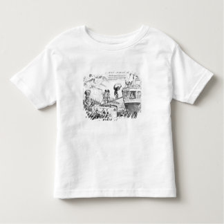 Satirical Cartoon About the State of Ireland Toddler T-Shirt