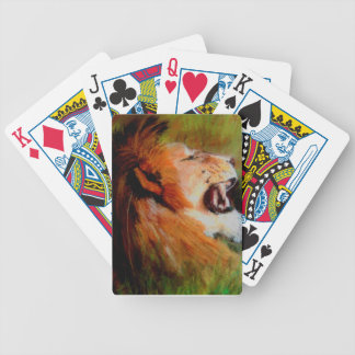 SATISFIED. BICYCLE PLAYING CARDS