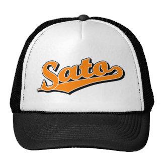 Sato in Orange Cap