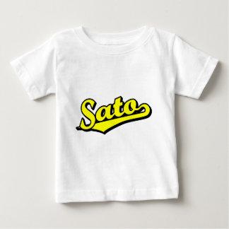 Sato in Yellow Baby T-Shirt