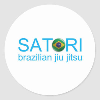 Satori BJJ Round Sticker