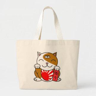 Satori Neko Large Tote Bag