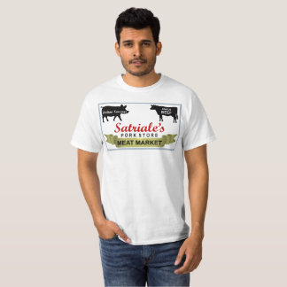 Satriale's Meat Market Shirt Revised