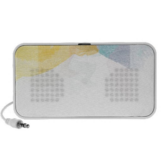 Saturated Stripes watercolor Notebook Speaker
