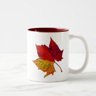 Saturated Sycamore Two-Tone Coffee Mug