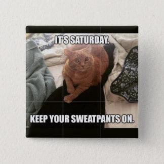 Saturday Advice 15 Cm Square Badge