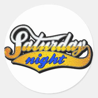 Saturday Night Beer Sticker