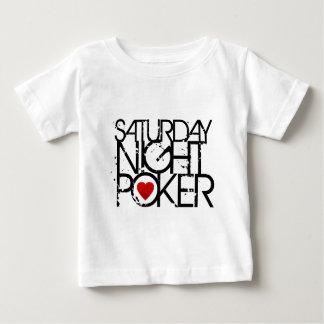 Saturday Night Poker Baby T-Shirt