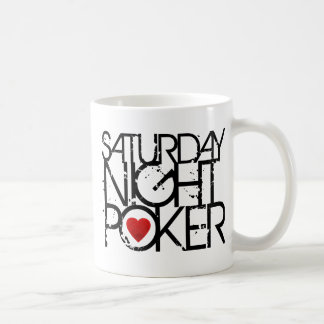 Saturday Night Poker Coffee Mugs