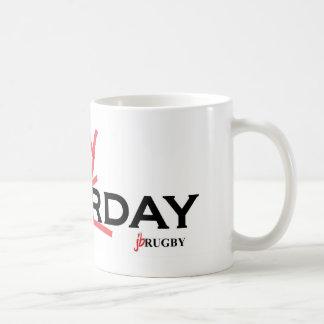 Saturday X Rugbyday Coffee Mug