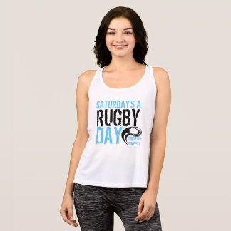 Saturday's a Rugby Day Tank Top