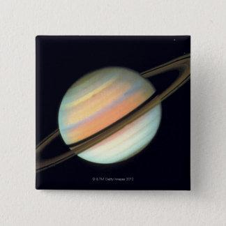 Saturn 15 Cm Square Badge